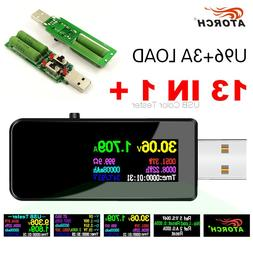 10/13 in 1 <font><b>USB</b></font> tester DC Digital voltmet