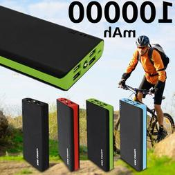 100000mAh Power Bank Portable External Battery Charger with