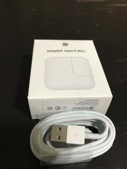 12W USB Adapter Wall Charger for IPad Or iPhone Free 2M USB