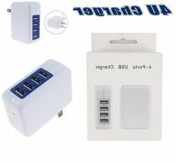 15W 3.1A 4 Port USB Wall Charger High Speed For IPhone 6, 7,