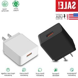 18W Fast Quick Charge QC 3.0 USB Wall Charger Adapter US Plu