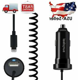 2.1A Car Charger with Extra USB Port for Apple iPhone 6S Plu