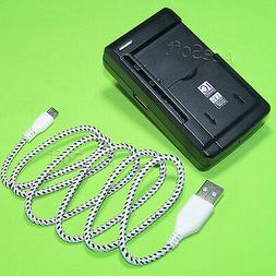 2 Accessory Battery Charger USB Cable f Samsung Galaxy Core