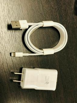 2 AMP USB Home Adaptive Fast Wall Charger & and Cable Iphone