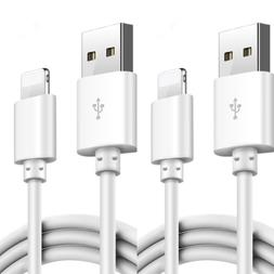 2 PACK USB Data Charging Charger Cables Cords For Apple iPho