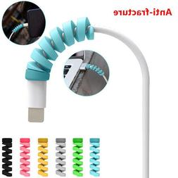 2Pcs Charging Cable Protector Saver Cover For Apple iPhone <