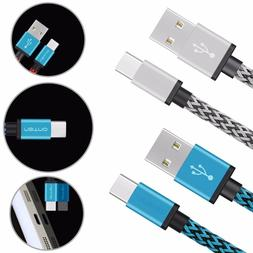 2x Braided USB Sync Charger Cable Cord For Google Pixel 2 XL