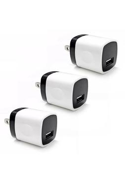 3x USB Wall Charger Power Adapter AC Home US Plug FOR Samsun