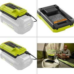 40-volt lithium-ion charger with usb port | ryobi battery po