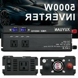 4000W/5000W Car Power Inverter DC 12V To AC 110V Charger Con