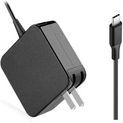 45W Type-C USB-C AC Laptop Charger Power Adapter for Lenovo,