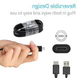 4FT LONG Braided USB-C Type-C Data Sync Fast Charger Chargin