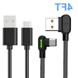 4FT USB-C Type C FAST Charging Sync Charger Cable For Samsun