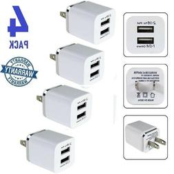 4x usb charger 5v dual 2 port