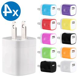 4x USB Wall Charger Plug AC Home Power Adapter For iPhone 6