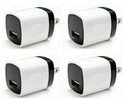 4x 1A USB Adapter AC Home Wall Charger US Plug FOR Cell Phon