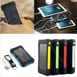 2020 900000mAh 2 USB Portable Solar Battery Charger Solar Po