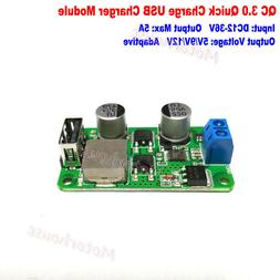 5A QC3.0 5V 9V 12V USB Fast Quick Charging Module Charge Boa
