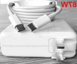 87W USB-C Power Adapter Charger For A1719 MacBook Pro 13 15