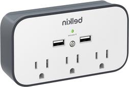 Belkin BSV300ttCW 3-Outlet Wall Mount Cradle Surge Protector