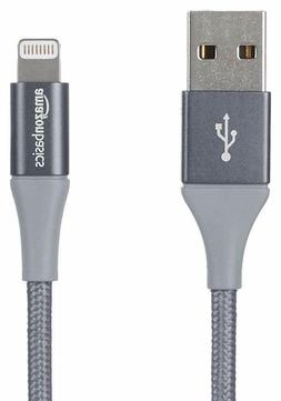 Double Braided Nylon USB A To Lightning Compatible Cable, Ad