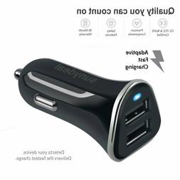 Fast Car Charger for Android and IPhone Rapid Quick Charge 1