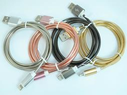 MFi Lightning Metal Fast Cord Cable USB Charger for Apple iP
