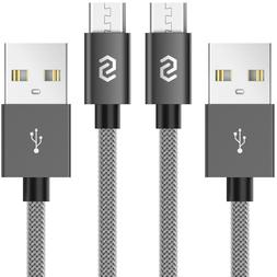 Syncwire 2-PACK Micro USB Cable Fast Charger for Samsung Gal