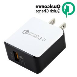 USB Wall Charger Fast Charge 3.0 Power Adapter For iPhone 8