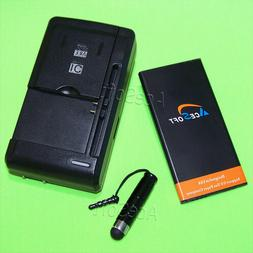 Accessory 2350mAh Battery USB/AC Charger Stylus for Huawei T