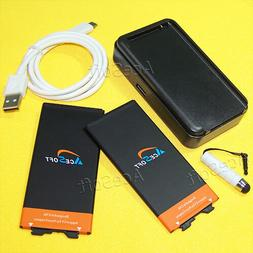 Accessory 2x 4670mAh Battery Wall Charger USB Cable Pen for