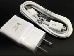 Adaptive Fast Rapid Wall Charger + USB Cable For Samsung Gal