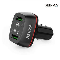 Anker Car Charger Quick Charge 3.0 Car-Charger 2A 42W Lighte