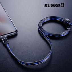 Baseus Flow LED Light-up Lightning Charger USB Cable iPhone