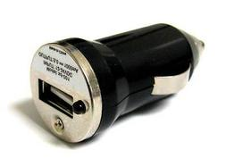 Black USB port Mini Car charger Adapter for MP3 IPOD IPhone