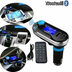 Bluetooth Car FM Transmitter MP3 Player Radio Adapter Kit US