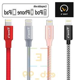 Braided USB Charger Cable Data Sync Cord For iPhone 6 7 8 Pl