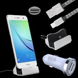 Car Charger USB C Dock Cable for Google Pixel 2 XL Moto X4 Z