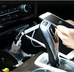 Dual-Port 2 USB Ports Car Charger With Or Without 2X USB Cab