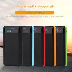 dual usb power bank case 4x18650 battery