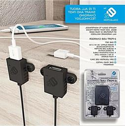 EZ CHARGER | DUAL USB FAST & SMART FURNITURE ADD ON CHARGER