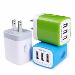 Fast Charge USB Wall Charger, Ailkin High Speed 3.1A Charger