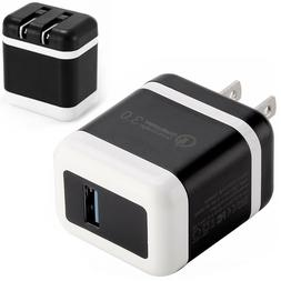 FAST Charging USB Wall Charger Plug Travel Adapter for Samsu