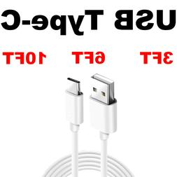FAST USB C Cable Charger Cord Type C for Samsung S8 S9 S10 P