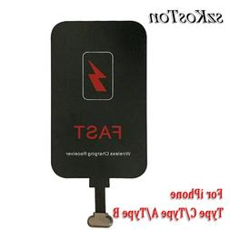 Fast Wireless <font><b>Charger</b></font> Receiver For iPhon