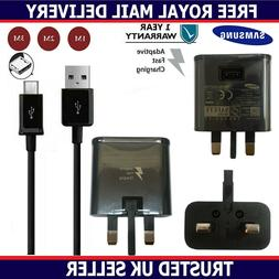 Genuine Fast Charger Plug & 1M 2M 3M USB Data Cable For Sams