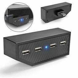 High Speed 4-Port USB Hub Charger Splitter Expansion Adapter