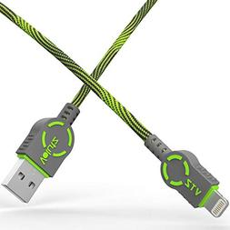 iPhone Charger Cable, Lightning to USB A Cord, Volutz Apple