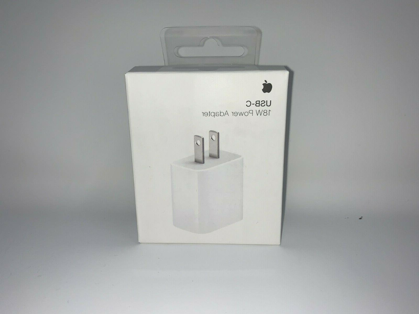 18w Charger USB-C Power Adapter OEM APPLE Fast iPhone 11 Pro
