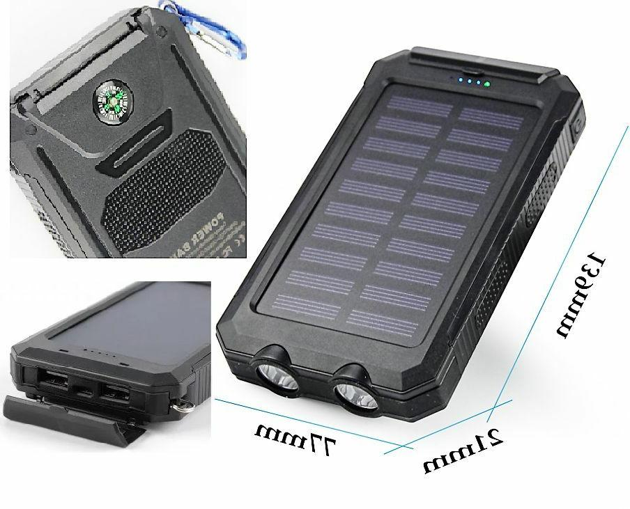 Portable Charger Solar Bank For